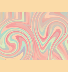 abstract colorful pastel color marble texture vector image