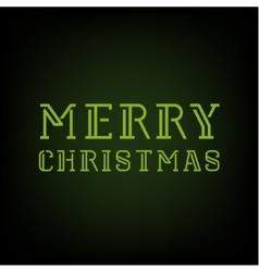 Christmas Merry 2016 text Template vector