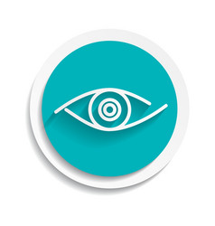Eye icon look human vision symbol vector