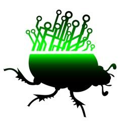 Future beetle vector