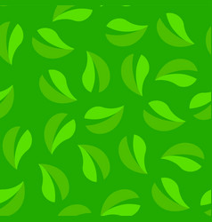 Green seamless background looped texture pattern vector