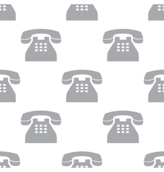 New Telephone seamless pattern vector image