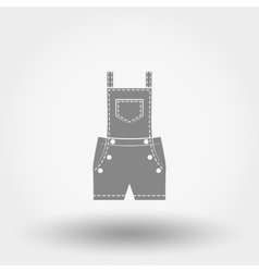 Rompers icon vector