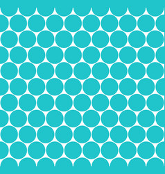 Seamless pattern circular shapes vector