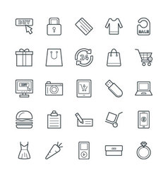 Shopping Cool Icons 4 vector