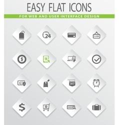 E-commerce icons set vector