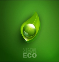 element for ecological design vector image vector image