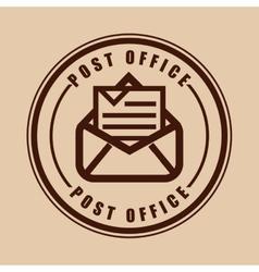 Posty office vector