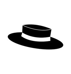 A felt hat vector