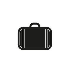 business portfolio office suitcase - briefcase vector image