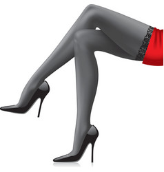 Legs girl vector