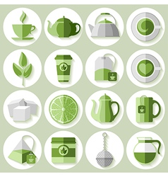 Tea icon vector image vector image