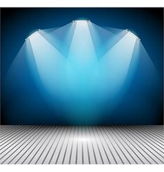 Modern interior art gallery frame design with vector image