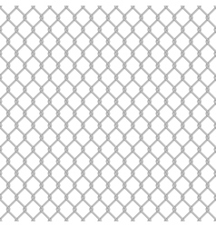 Seamless chain link fence vector image
