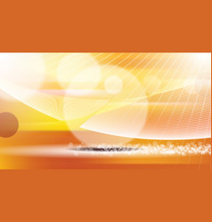 digital orange and red abstract vector image vector image