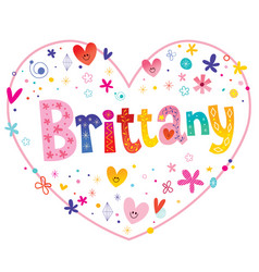 Brittany female given name vector