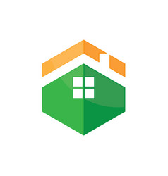 house icon roof logo image vector image