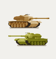 Military tank army concept war weapon battle vector
