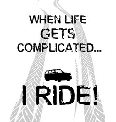 Off road quote vector