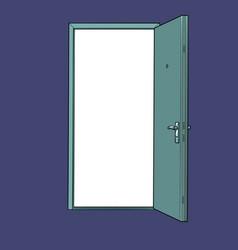 open doorway template vector image