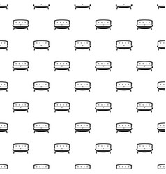 retro old sofa pattern seamless vector image