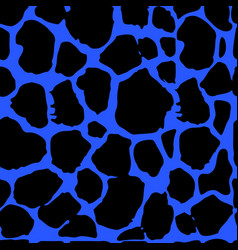 seamless leopard print pattern texture vector image