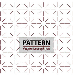 Seamless linear pattern with thin lines abstract vector