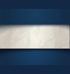 white and torn old paper vector image