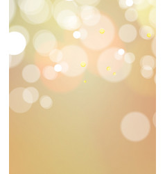Abstract bokeh light vintage background vector