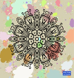 Background with lace ornament-2 vector