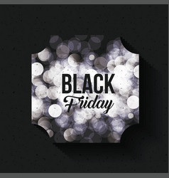 black friday and ecommerce design vector image
