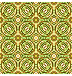 Bright green pattern vector image