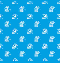 color print pattern seamless blue vector image