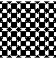Design seamless monochrome tetragon pattern vector image