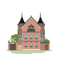 Mansion vector