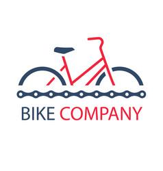 sport bike company red bike background imag vector image