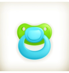 Pacifier icon vector image