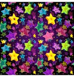 Bright seamless christmas pattern vector