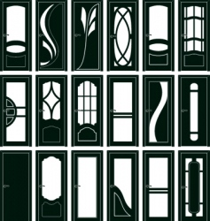 door forms vector image vector image