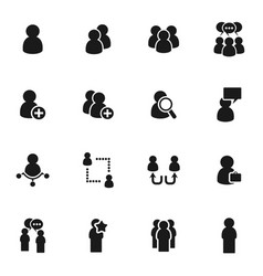 people icon5 vector image vector image