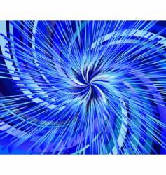 through the universe vector image