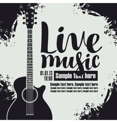 concert live music vector image