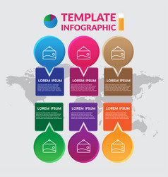 Infographic design stock infographic template vector