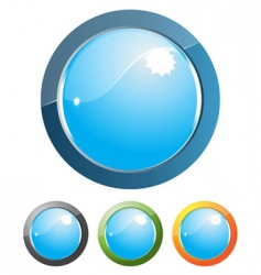 internet button design vector image