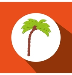 palm isolated design vector image
