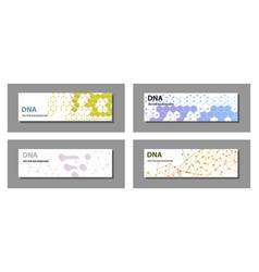 Set of 9 templates for presentation slides vector