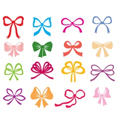 Bow color vector