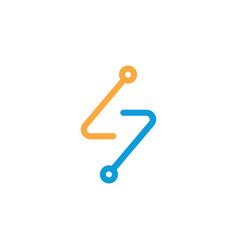 Electrical logo vector