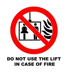 Fire emergency icons do not vector