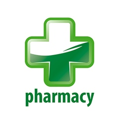 logo Green Cross Pharmacy vector image